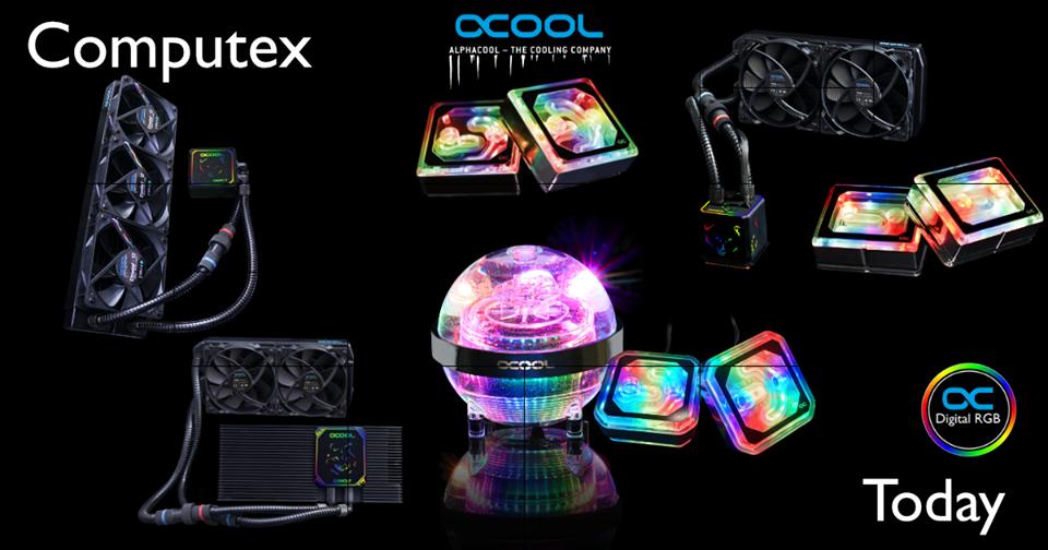 Новые устройства Alphacool на Computex 2019