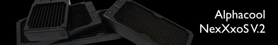 Доступны различные модели радиаторов Alphacool NexXxoS V.2