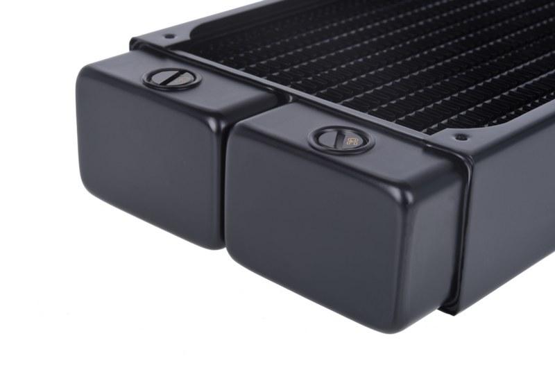 Камеры радиаторов Alphacool NexXxoS V.2 получили более лаконичный и современный дизайн