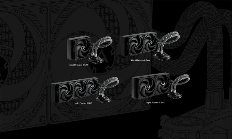 ARCTIC Liquid Freezer II Series comes in four different models